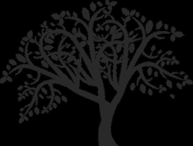 černý strom