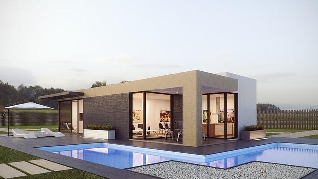 luxusní bungalov