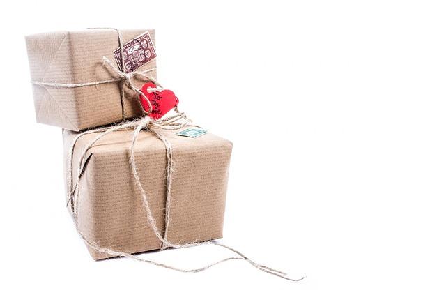 zabalené balíčky