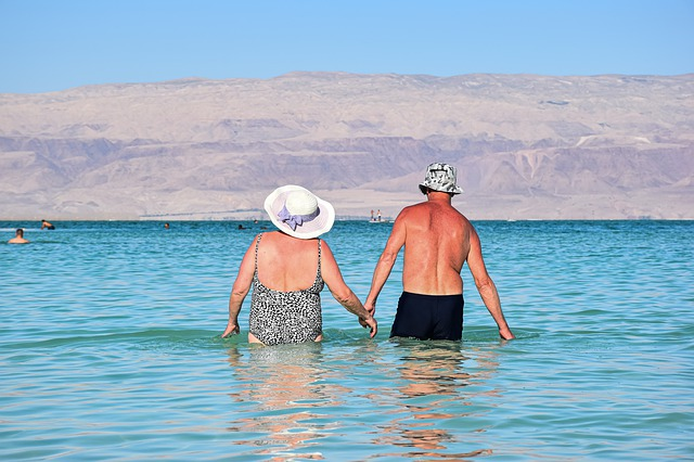 partneři na dovolené u moře