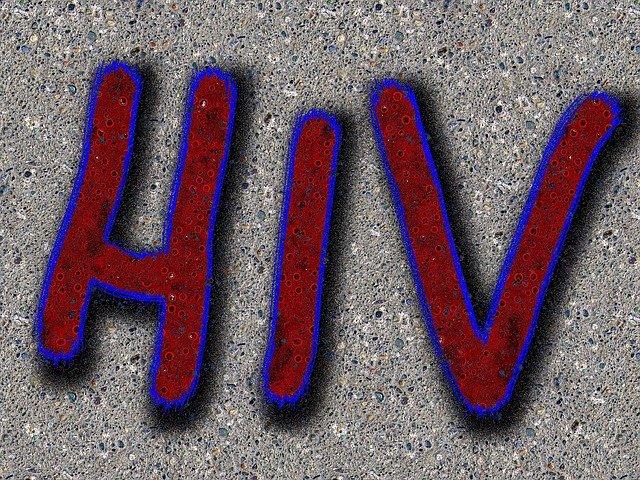 animovaný nápis HIV