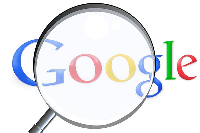 přiblížení Googlu