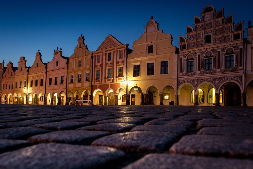 náměstí v Telči